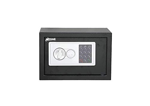 Ozone Safety Solutions BAS-i5 Digital Safe, 24 Months Warranty; Volume: 10 LTR; Electronic Locking System; User PIN Code Access; Black