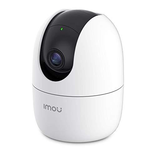 【アレクサ対応】 Imou ネットワークカメラ WiFi 1080P みまもりカメラ ベビーモニター 防犯カメラ ペットカメラ 監視カメラ 360°回転 スマート追跡 プライバシーマスク 暗視撮影 双方向音声会話 AI人間動作検知 異常音声検知 内蔵サイレン スマホ通知 Ranger2 3年保証