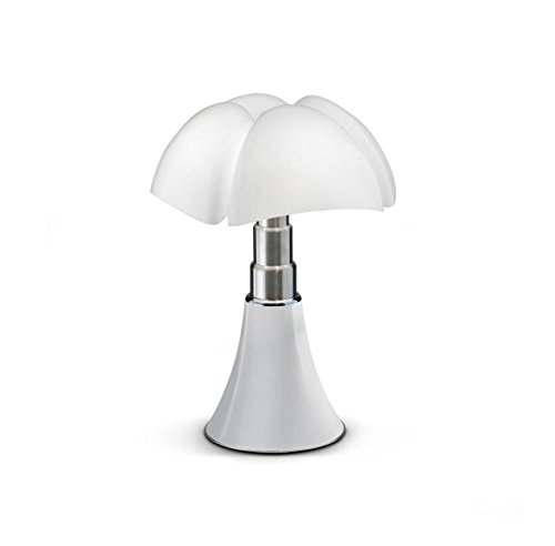 MINI PIPISTRELLO CORD-LESS - Lampe Nomade Blanc LED H35cm - Lampe à poser Martinelli Luce designé par Gae Aulenti
