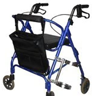 walker with oxygen tank holder and seat