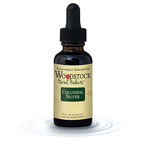 Woodstock Herbal Products, Colloidal Silver, 2 Ounce
