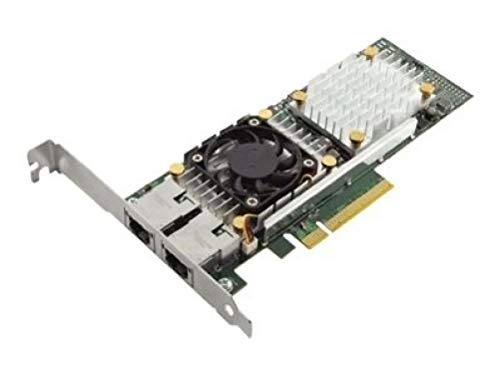 Dell Qlogic 57810 Dual Port 10GB Base-t Network Adapter Full Cuskit 540-BBGU