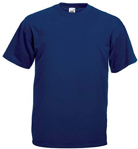 Fruit of the Loom T-Shirt S-XXXL in verschiedenen Farben XL,Navy