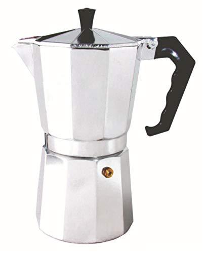 DEXUAN Cafetera Cubana de Aluminio Estufa Superior Cafetera Moka Pot Italian Espresso Greca Coffee Maker Brewer Percolator, 2 Tazas 100ml
