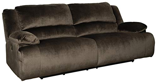 Signature Design by Ashley Clonmel 2-Seat Reclining Power Sofa Chocolate