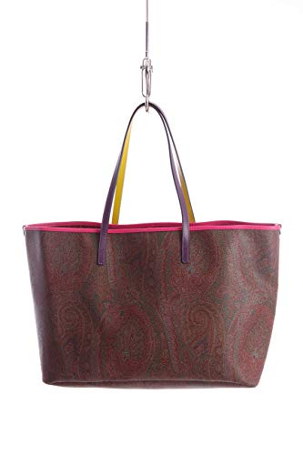 Etro MEDIUM PAISLEY SHOPPER BAG MULTICOLOUR DETAIL, Damen, Taglia One Size.