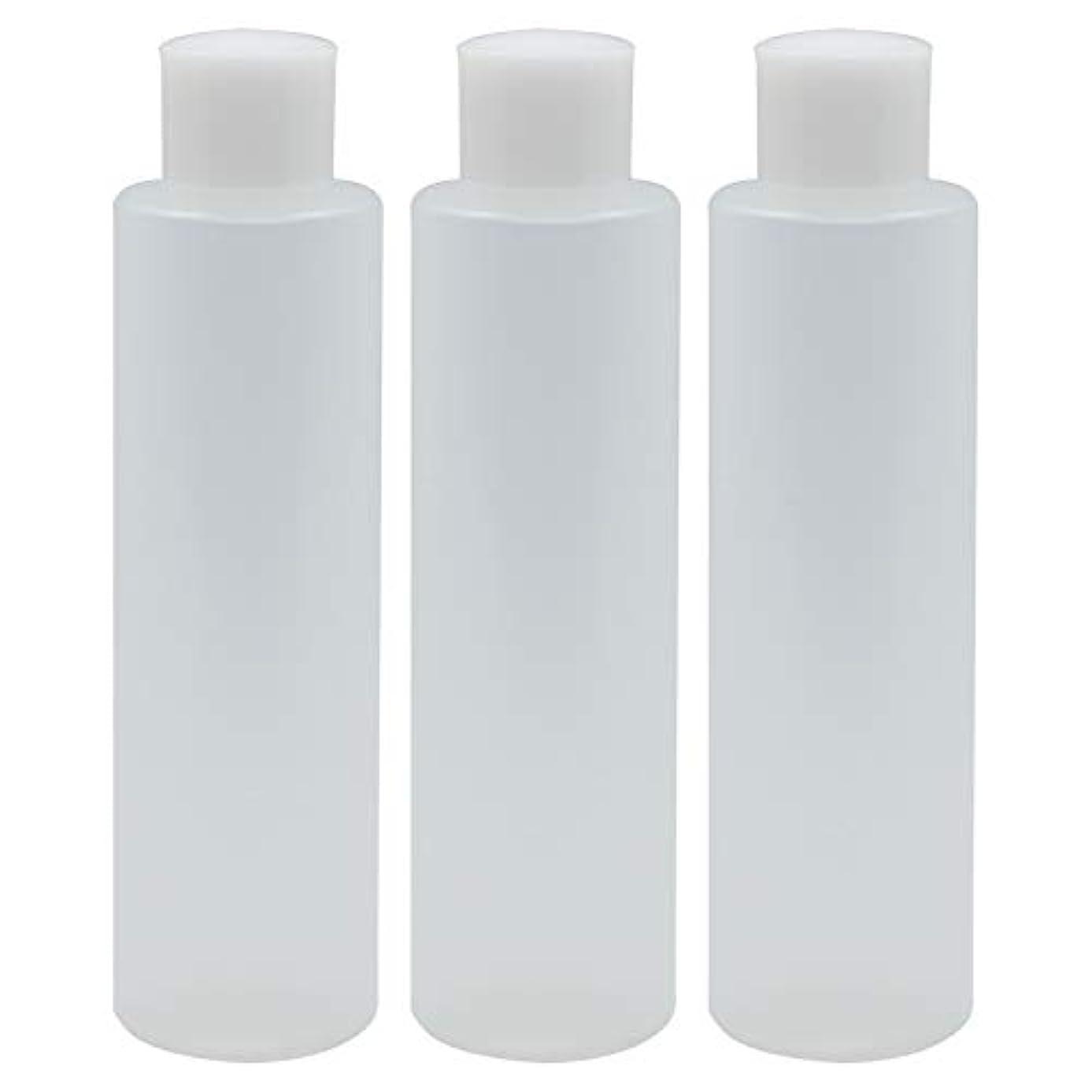 ではごきげんようアルミニウム百万日本製 PPボトル 半透明 スクリューキャップ 中栓付き 3本セット