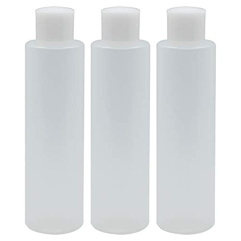 肝ラダディスカウント日本製 PPボトル 半透明 スクリューキャップ 中栓付き 3本セット