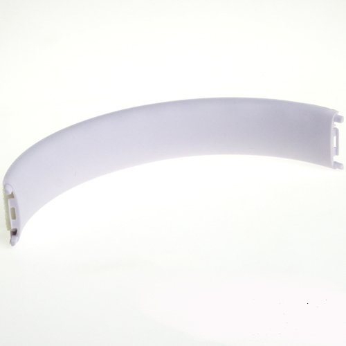 Replacement Top Headband Cushion Pad Repair Parts for Beats by Dr.Dre Studio 2.0 Wired Wireless Headphones (White)