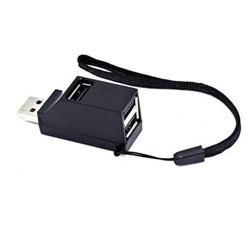 SKYYKS NI USB 2.0/3.0-Hochgeschwindigkeits-USB-Hub-Splitter-Hub-Adapter mit Mehreren Anschlüssen für PC-Computer Für tragbare Festplatten