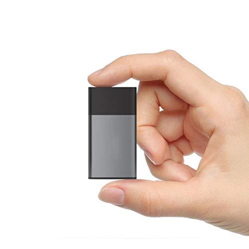 MUDEREK Disco Duro Externo SSD de 1,8 Pulgadas, Unidad de Estado sólido, 2 TB/1TB/500GB USB 3.0 Tipo C portátil SSD, Apto para Ordenadores de sobremesa, portátiles, tabletas, televisores Inteligentes