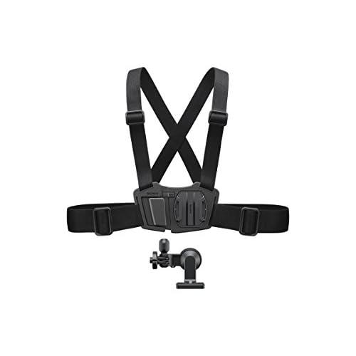 Sony Imbracatura da Petto per Action Cam Resistente, Leggera, Regolabile, Ruotabile Fino a 360°