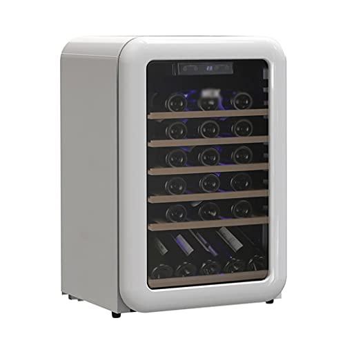 SHENXINCI 115L de Capacidad Vinotecas Vintage 49 Botellas Vinoteca de Temperatura Constante,con...