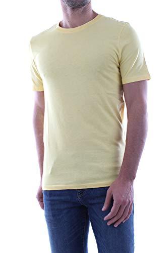 JACK & JONES Jjeorganic Basic Tee Ss O-Neck Noos, maglietta da uomo giallo. M
