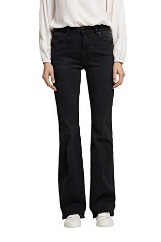ESPRIT Damen 100EE1B308 Jeans, 911/BLACK Dark WASH, 26/32