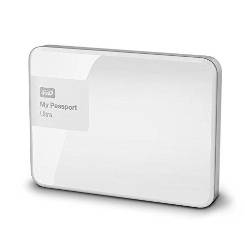 Western Digital My Passport Ultra 2 to 2.5 « USB 3.0 Disque Dur Externe Blanc