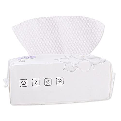 Serviette faciale à visage unique nettoyage tissu de maquillage de maquillage de tissu tissu de coton 100pcs coton tampon