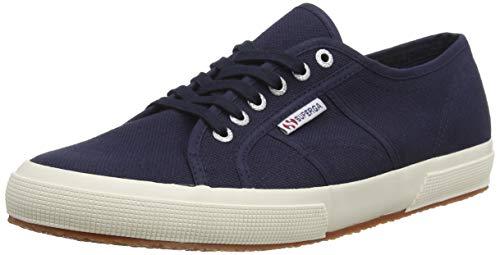 Superga Unisex 2750 Cotu Classic Sneaker, Navy, 38 EU