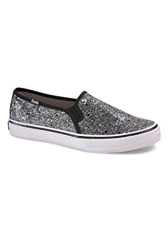 Keds Slipper Women DBL Deck Glitter WF54673 Black, Schuhgröße:41