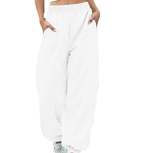 ITISME Leggings Donna da Yoga,Pantaloni Donna Sportivi Vita Alta Elastici Pantaloni Stretto Donna Lungo Jogging Donna