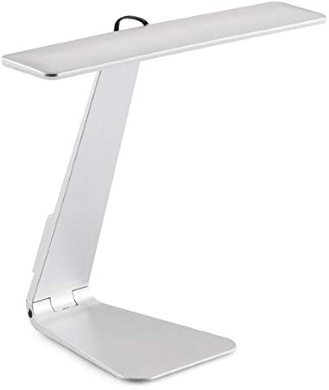 Xiadsk Ultradünne Mac-Stil 3-Modus Dimmen LED Lesestudie Tischlampe weiches Augenschutz Nachtlicht Faltbare wiederaufladbare Tischlampe