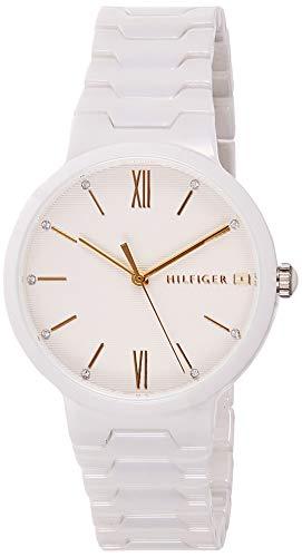 Tommy Hilfiger Reloj Analógico para Mujer de Cuarzo con Correa en Cerámica 1781956