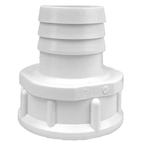 well2wellness® Schlauchtülle mit Innengewinde x (Pool-) Schlauchanschluss - 1