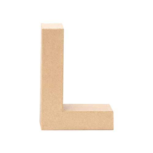 Creative Discount® Papp-Buchstabe L, 17,5x5,5cm
