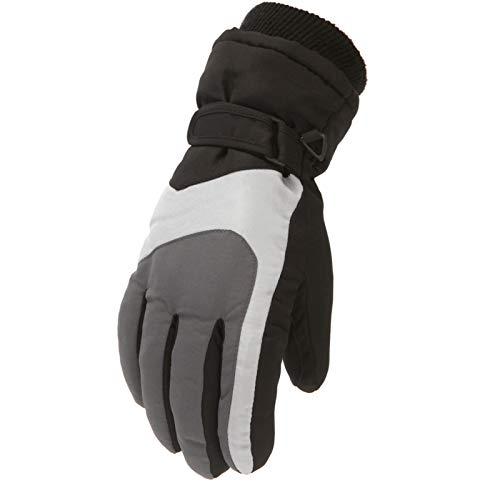 Obestseller Guantes de Invierno para niños, Ski Gloves Touchscreen Warm Waterproof Windproof Guantes de Invierno para Esquí, Equitación, Snowboard, Deportes de Invierno al Aire Libre