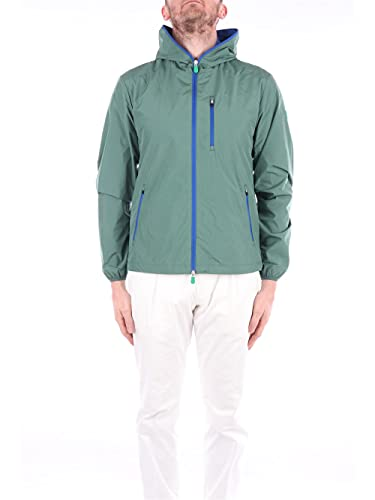 Save The Duck D37320M-WIND12 50009 Bottle Green Jacket Uomo M