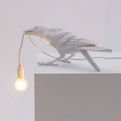 Lámpara de pared creativa, forma de pájaro, lámpara de protección de ojos para decoración, adecuada para sala de estar, dormitorio, cuarto de baño