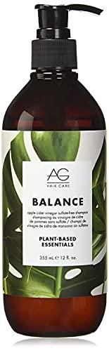 AG Hair Natural Balance Shampoo (or) Plant based essentials , Apple Cider Vinegar, 12 Fl Oz