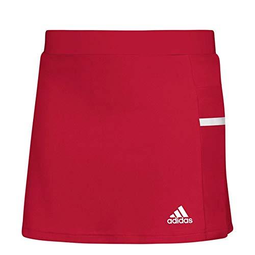 adidas Team 19 Skort - Women's Multi-Sport XS Power Red/White