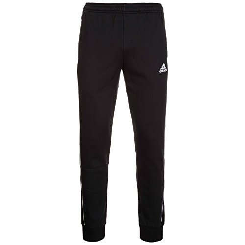 adidas Herren CORE18 SW PNT Sport Trousers, Black/White, 3XL