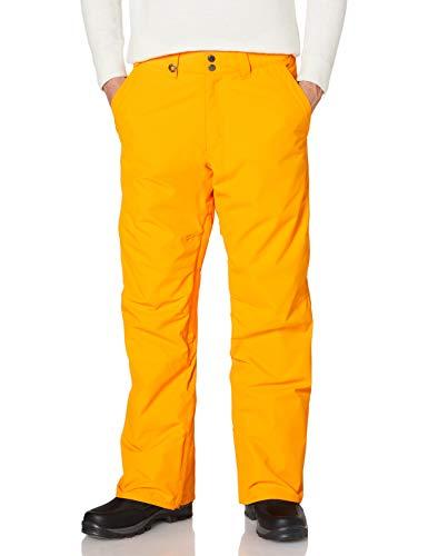 Quiksilver Estate-Pantalón para Nieve para Hombre, Flame Orange, S