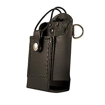 boston leather radio holder