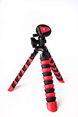 TronicXL Premium Kamerastativ Kamera Stativ Flexibel Tripod für Sony FDR-AX53 4K FDR-AX33 4K AX100E Camcorder Alpha 3000 5000 5100 6300 E-Mount DSC-RX100 III DSC-W830 HX60 RX100 Cyber-Shot Cybershot
