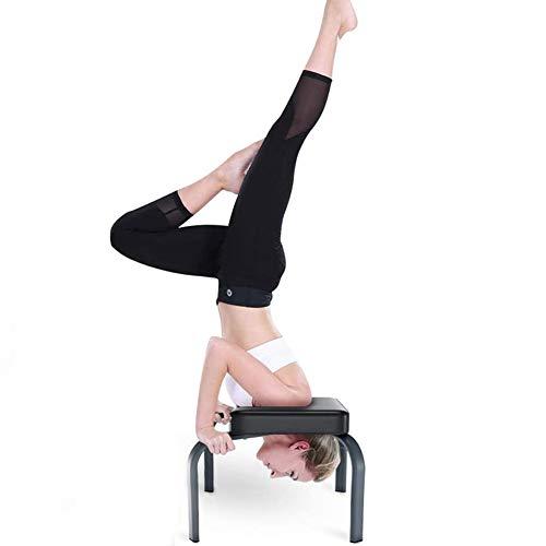 Yoga Taburete Yoga Headstand Bench Yoga Inversion Chair Silla de Inversión,Banco de Inversion,Shoulderstand,Vertical y Varias Posiciones Yoga