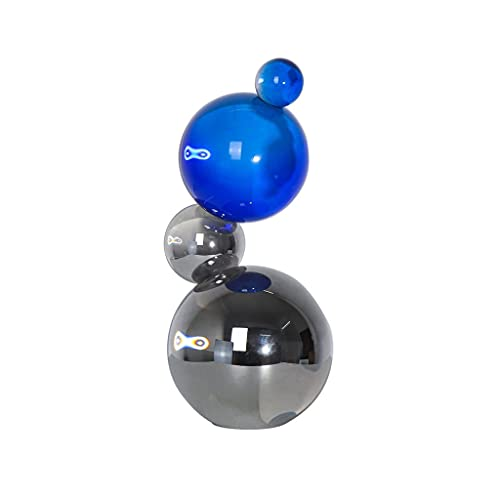 bolas de energía Moderna gabinete de vino de cristal geométrico de la esfera minimalista. TELEVISOR Armario de escritorio Decoración Sala de estar Estudio Accesorios para el hogar bola de fotografía d