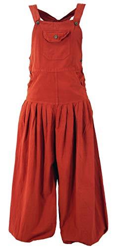 Latzhose Muck Aladinhose Haremshose Pluderhose Pumphose - rostorange / Pluderhosen und Aladinhosen, Orange, S