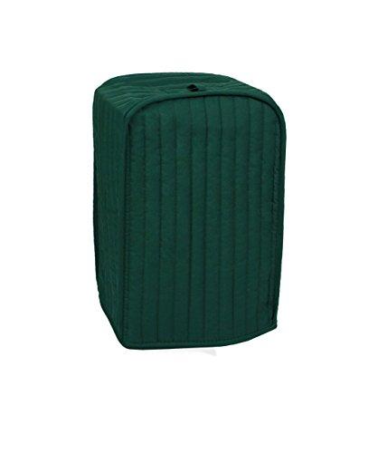 Ritz Polyester/Baumwolle gesteppter Ständer für Mixer oder Kaffeemaschinen, Staub- und Fingerabdruckschutz, maschinenwaschbar Abdeckung für Mixer/Kaffeemaschine dunkelgrün