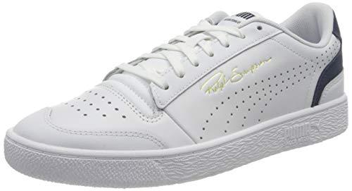 PUMA Unisex Ralph Sampson Lo Perf Colorbl Sneaker, Weiß-Peacoat, 43 EU