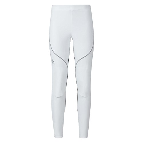 Odlo Pants Pantalon Logic Muscle Light XXL White - odlo Graphite Grey