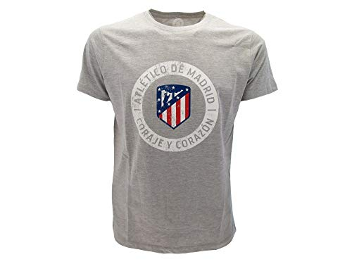 ROGERS & JLK T-Shirt Offizielles Atlético Madrid (XL Extra Large)