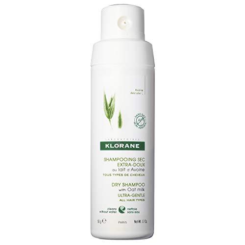Klorane Dry Shampoo Powder with Oat Milk ,...
