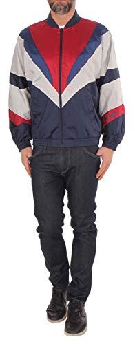 Wrangler herenjack 80'S Shell Jaket marineblauw-rood-wit (navy)