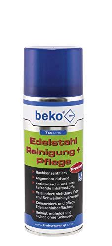 Beko TecLine Edelstahl Reinigung + Pflege 400 ml