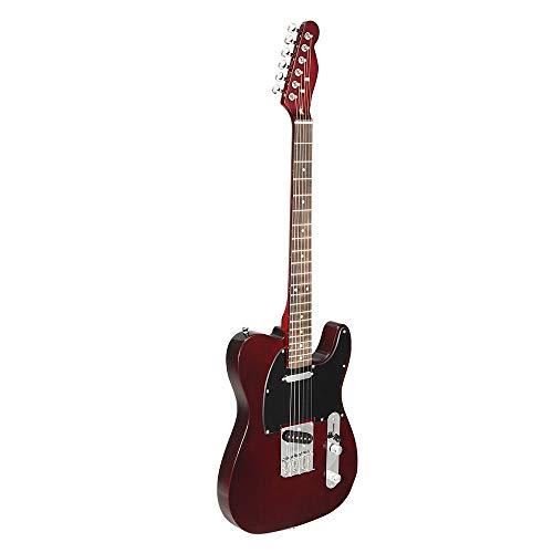 HUANH 24 trastes TL guitarra eléctrica Vintage ASH Cuerpo de arce Instrumento...