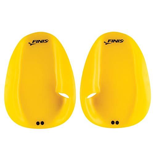 FINIS Agility - Paleta flotante para natación, Unisex Adulto, amarillo, X-Small