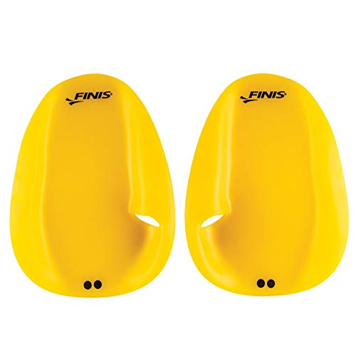 Finis Paddles, Agility Paddle Floating Small Unisex-Adult, Yellow